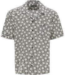 dolce & gabbana hawaii shirt with print