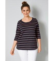 shirt janet & joyce marine::bordeaux