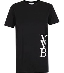 victoria victoria beckham logo t-shirt