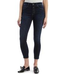 women's mavi jeans tess high waist ankle skinny jeans, size 25 x 27 - blue