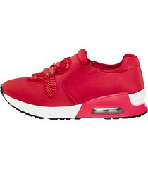 skor liva loop röd