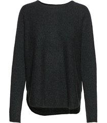 curved sweater gebreide trui groen davida cashmere