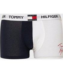 tommy hilfiger trunk print boxershorts mörk blå