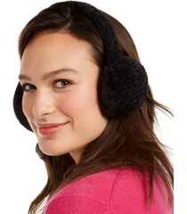 charter club chenille earmuff, created for macy's