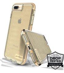 estuche para iphone 7plus/8plus prodigee safetee - dorado