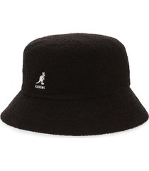 women's kangol bermuda bucket hat - black