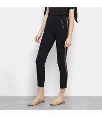 calça legging facinelli listra lateral feminina