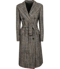 tagliatore belt-wrap coat