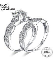 anillo de jewelrypalace infinito circonio cúbico 925 plata esterlina