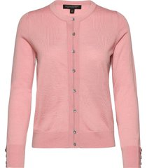merino cardigan sweater in responsible wool gebreide trui cardigan roze banana republic