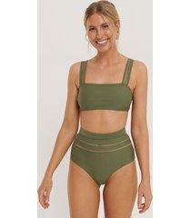 na-kd swimwear bikiniunderdel - green
