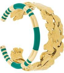 aurelie bidermann tangerine and positano set of bracelets - metallic