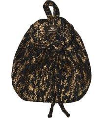 mochila  negra mapamondo