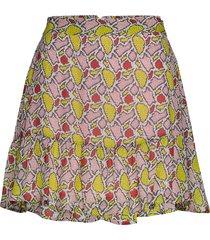 emmanuella kort kjol rosa custommade
