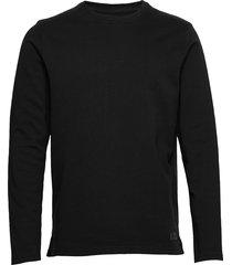 emilio crew sweat-shirt tröja svart just junkies