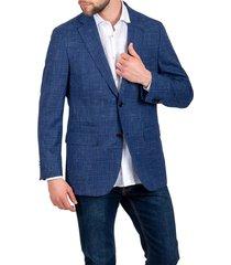 chaqueta formal executive azul trial
