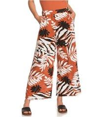 women's midnight avenue dobby mid-rise waist pants