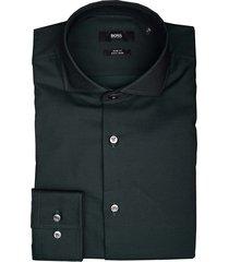 hugo boss overhemd jason donkergroen 50413744/350