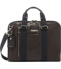 men's tumi alpha bravo aviano slim briefcase -