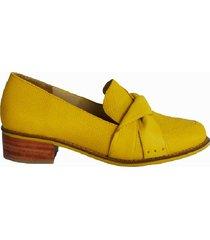 mocasín moño amarillo san basilio