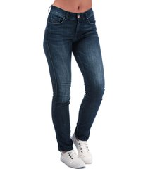 diesel womens sandy straight jeans size 29r in blue