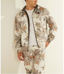men's riot floral camo jacket