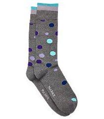 travel tech polka dot socks, 1-pair