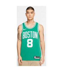 camiseta nike boston celtics icon edition swingman masculina