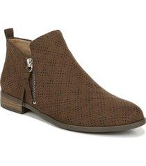 dr. scholl's women's rate zip booties women's shoes