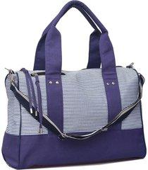 bolso azul matriona luxury
