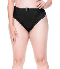 calcinha sempre sensual lingerie fashion preto - kanui