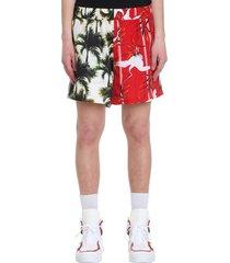 buscemi shorts in multicolor cotton