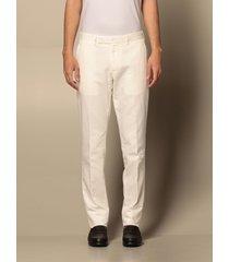 ermenegildo zegna pants ermenegildo zegna trousers in cotton and linen