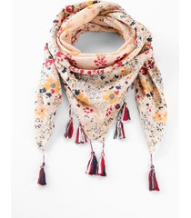 foulard con nappine (beige) - bpc bonprix collection