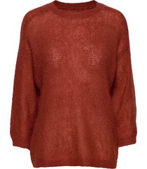 floris top stickad tröja röd masai