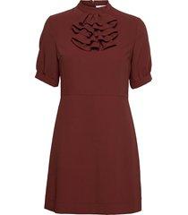dress kort klänning röd see by chloé