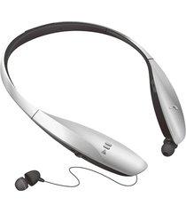 audífonos bluetooth deportivos, hb-900d auricular inalámbrico audifonos bluetooth manos libres  para el deporte auriculares retráctiles automáticos (plata)