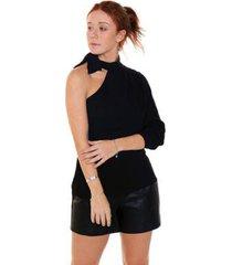 blusa studio 21 fashion um ombro só