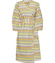 abylene jurk knielengte geel baum und pferdgarten