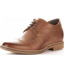 zapato oxford camel 7cms max denegri