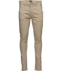 bhnatan pants chinos byxor beige blend