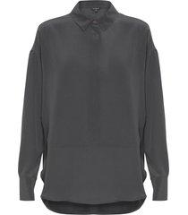 camisa feminina cris - preto