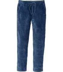 pantaloni in velluto con elastico regular fit tapered (blu) - rainbow