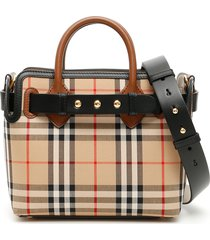 burberry vintage check the belt baby bag