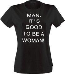 shirts t-shirt top | black and white - xl