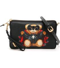 moschino bat teddy bear crossbody bag