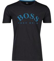 t-shirt hugo boss donkerblauw opdruk