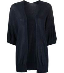 p.a.r.o.s.h. relaxed knit cardigan - blue