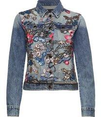 chaq brookly jeansjack denimjack blauw desigual