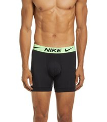 nike assorted 3-pack boxer briefs, size medium in black at nordstrom